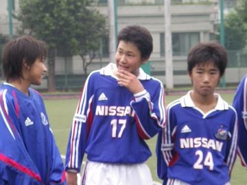 MVPの三橋君。24番は菅原君と判明。左は新子安のプリンス