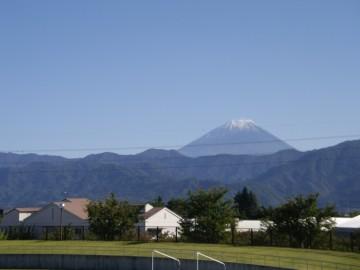 富士山がきれいだったよ