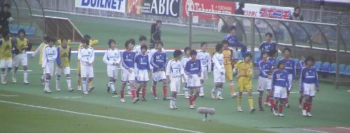 追浜U-14vs横三選抜
